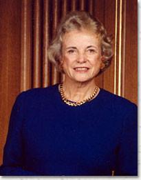 Former U.S. Supreme Court Justice Sandra Day O'Connor, Feb. 24, 2008 ...
