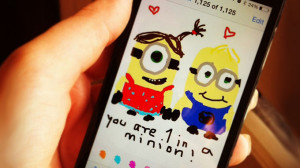 Minion Love Quotes Love finds a way minions