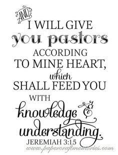 pastor appreciation day quotes Free Pastor Appreciatio...