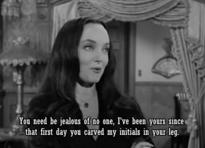 Displaying (20) Gallery Images For Morticia And Gomez Addams Quotes...