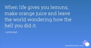orange juice quotes
