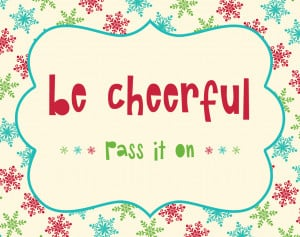 Cheerful Heart Quotes