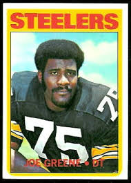 "... Joe"" Greene captured his attention during his formative sports years"
