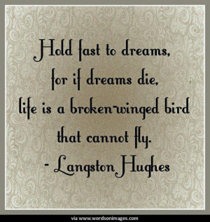 Quotes by langston hughes
