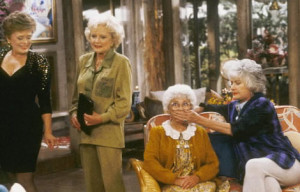 ... Rue McClanahan, Betty White and Beatrice Arthur in The Golden Girls
