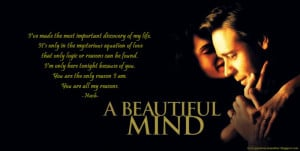 Displaying (19) Gallery Images For A Beautiful Mind Quotes...