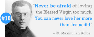 ... inspiring quotes from Saints (including a few not yet canonized