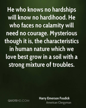 Harry Emerson Fosdick Nature Quotes