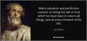Saint Peter Quotes
