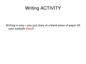 Academic writing workshop student quotes