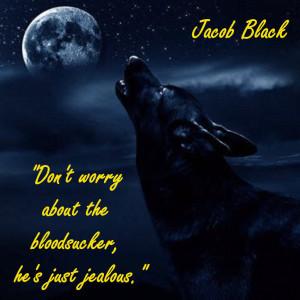 Twilight Series jacob wolf side