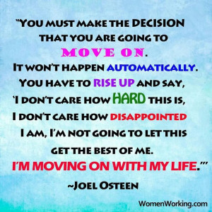 You must make the decision-Joel Osteen