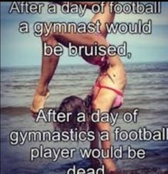 gymnastics quotes funny google search more gymnastics quotes football ...