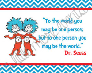 Thing 1 And Thing 2 Dr Seuss Quotes Instant download - dr. seuss