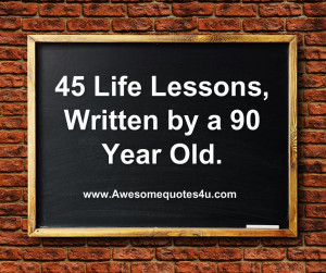 Awesome Quotes About Life Awesome quotes: 45 life