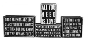 Inspirational Box Signs