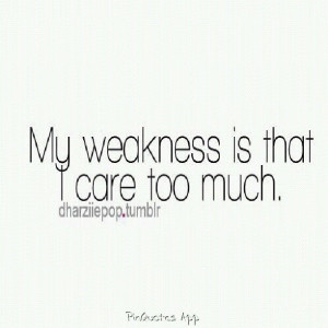 care too much. Usually lol