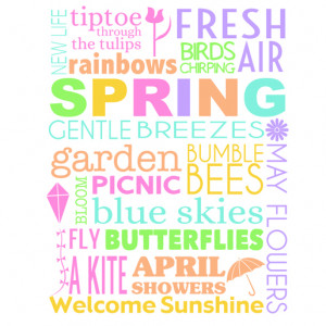 ... can download this colorful spring subway art printable in 8×10 size