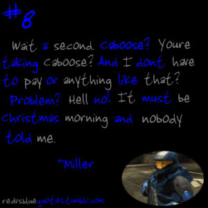 Red Vs Blue Quotes Red Vs. Blue Funny Quotes