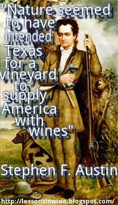 Texas WineMonth- Austin Quote