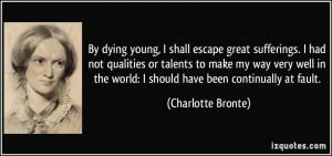 Charlotte Bronte Love Quote