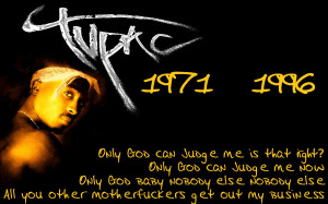 Tupac Shakur Quotes HD Wallpaper 14