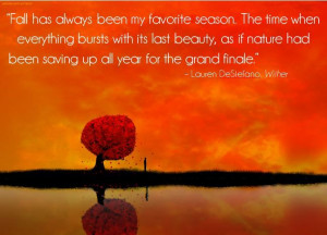 Autumn Quotes And Sayings...