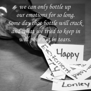 Bottled up emotions by DrawnUpAngel