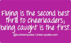 Cheer Quotes For Flyers Cheer quotes .