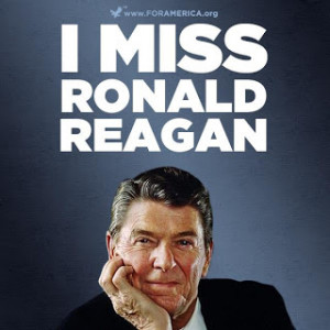 years ago today we lost Reagan and now we can only hope for more ...