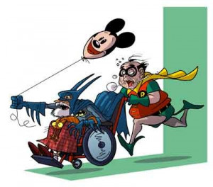 Old Batman and Robin