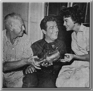 Robert Taylor And Ava Gardner