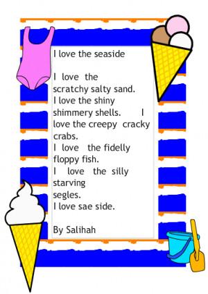 alliteration poems for kids