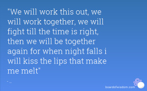 Community Working Together Quotes