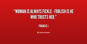 Quotes About Foolish Women