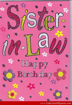 Happy Birthday Sister Quotes And Sayings