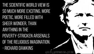 Richard Dawkins : The scientific worldview