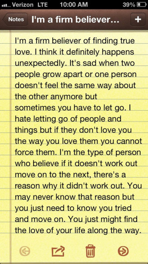 Moving on and finding the right one