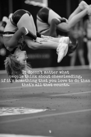 Inspirational Cheer Quotes and Sayings