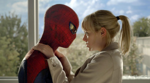 Andrew Garfield and Emma Stone in The Amazing Spider-Man (2012)