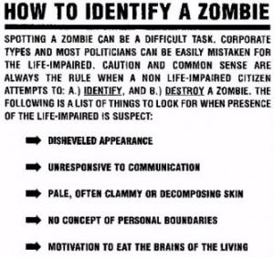 Zombie Survival Guide Rule