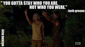 | Who Said It: Beth Greene (Emily Kinney) | Show: The Walking Dead ...
