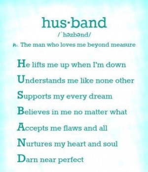 the meaning of the word husband