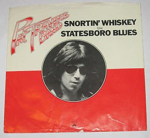 Pat Travers Band 7 45 PICTURE SLEEVE ONLY Snortin Whiskey b w