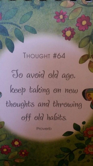 Stay young with change
