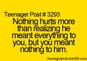 Teenager Posts About Love