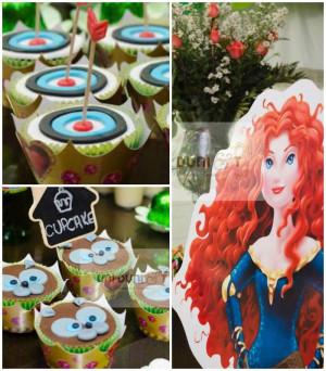 Disney's Brave themed birthday party via Kara's Party Ideas ...