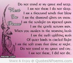 Quotes & Sayings & Phrases » Sad Quotes About Death Of A Grandma More