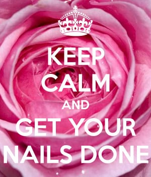 Keep Calm And Get Your Hair