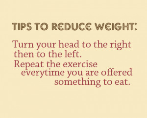 The best way to avoid dieting - EXERCISE WHILE EATING!